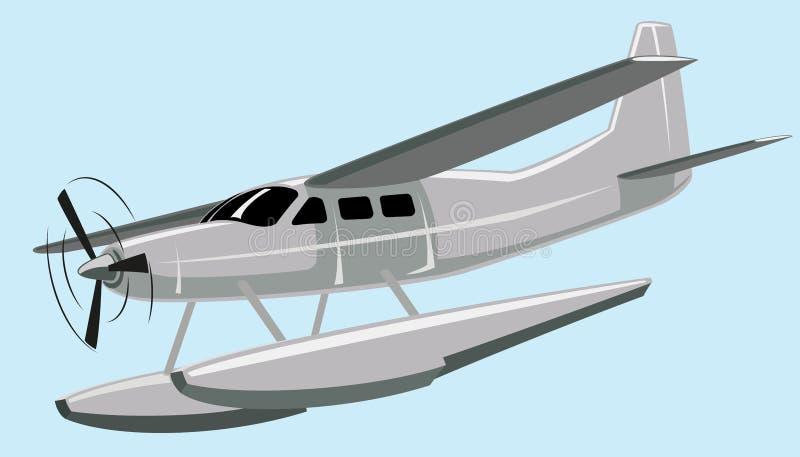 seaplane royaltyfri illustrationer