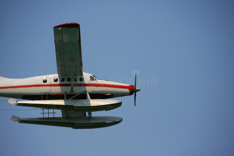 Seaplane, Alaska stock image