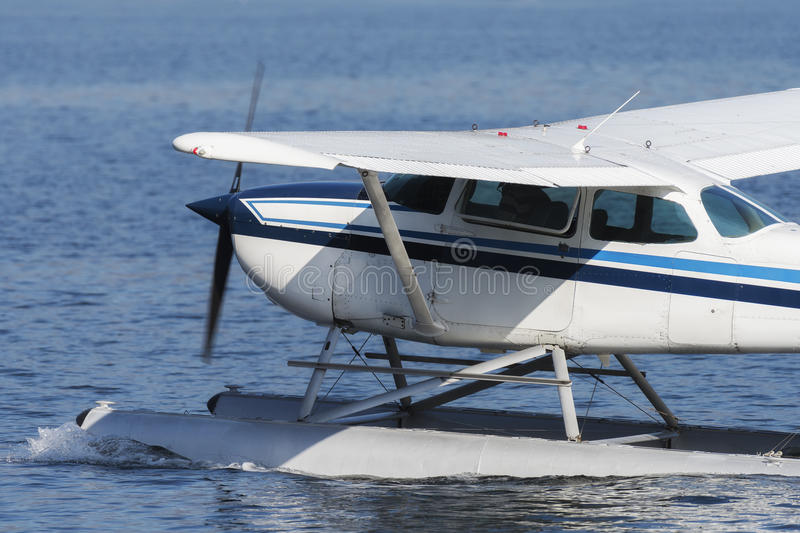 Seaplane take off royalty free stock images