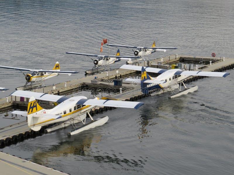 seaplanes royaltyfri bild