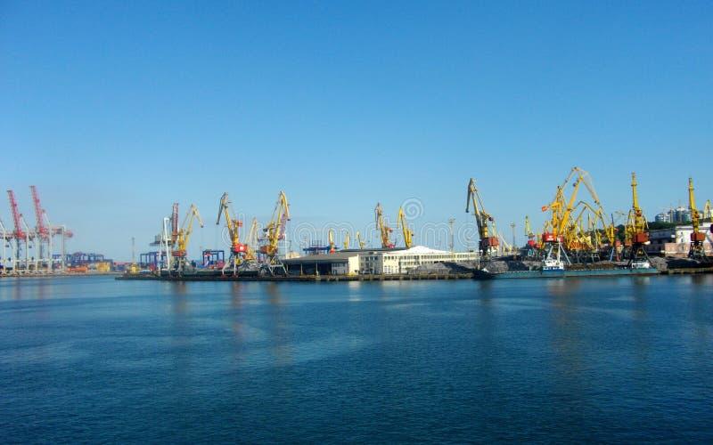 seaport royaltyfria foton