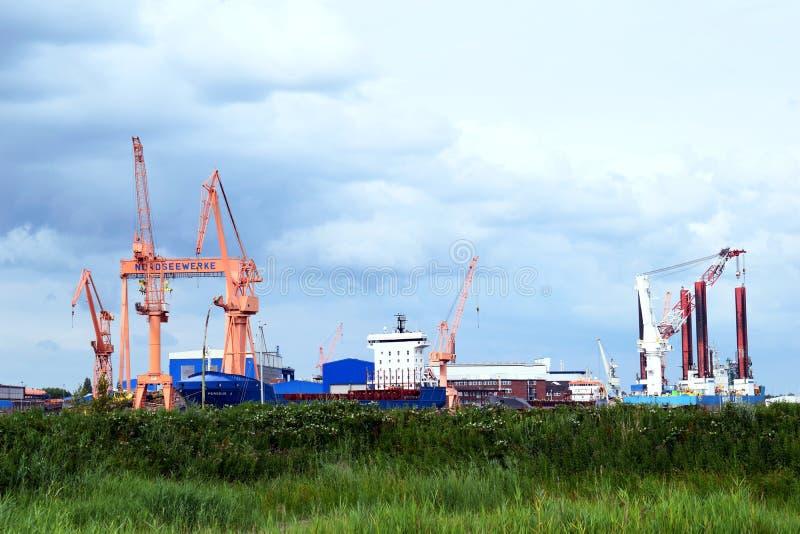 seaport obraz stock