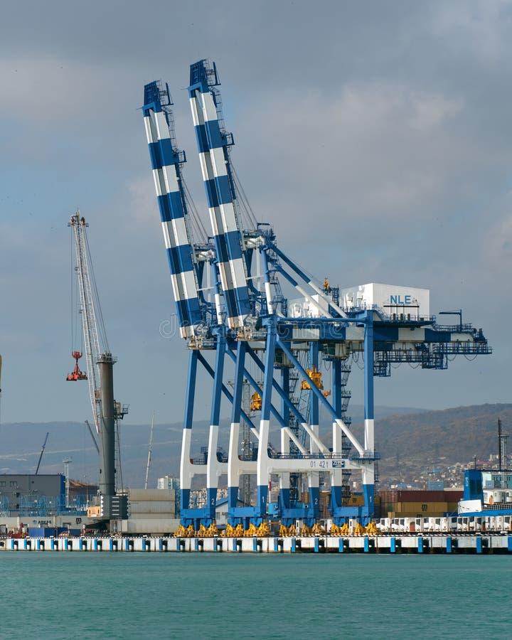 seaport royaltyfri foto
