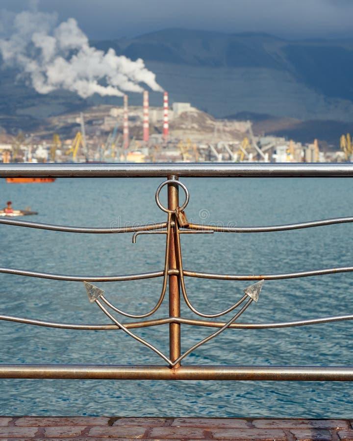 seaport royaltyfri fotografi