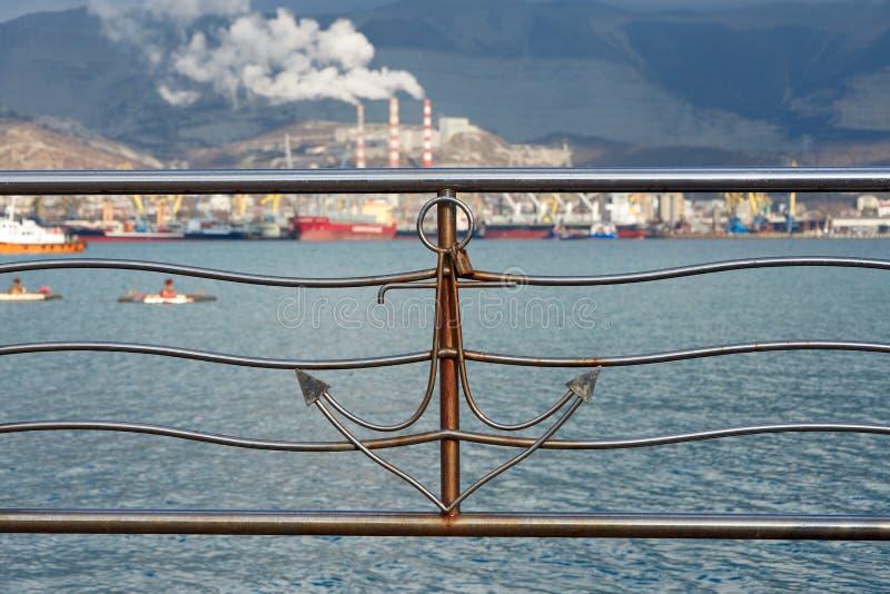 seaport arkivbilder
