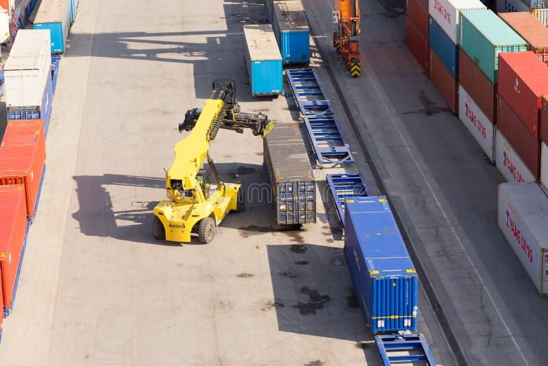 seaport стоковая фотография rf