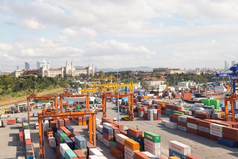 seaport стоковое изображение