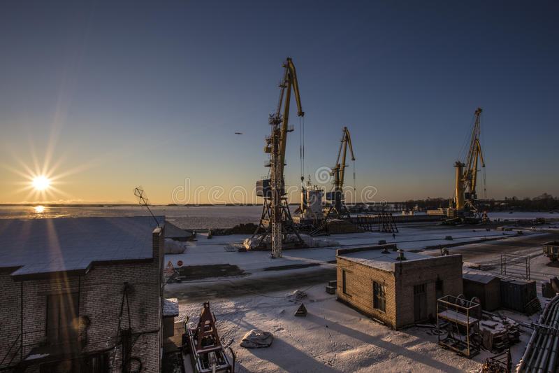 seaport στοκ φωτογραφίες