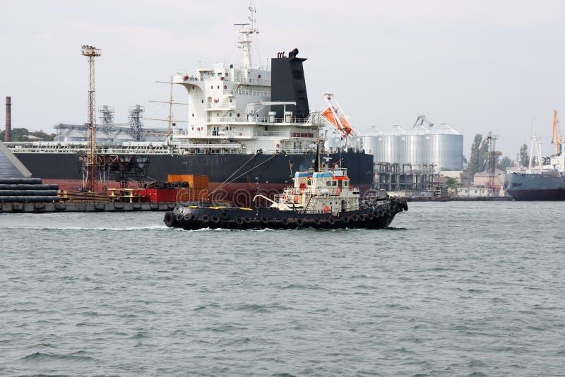 seaport arkivfoton