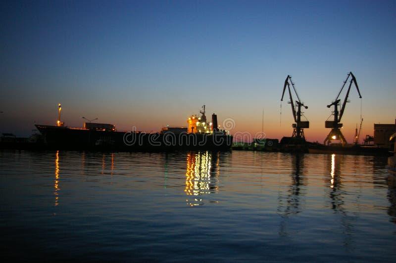 seaport sochi arkivbilder