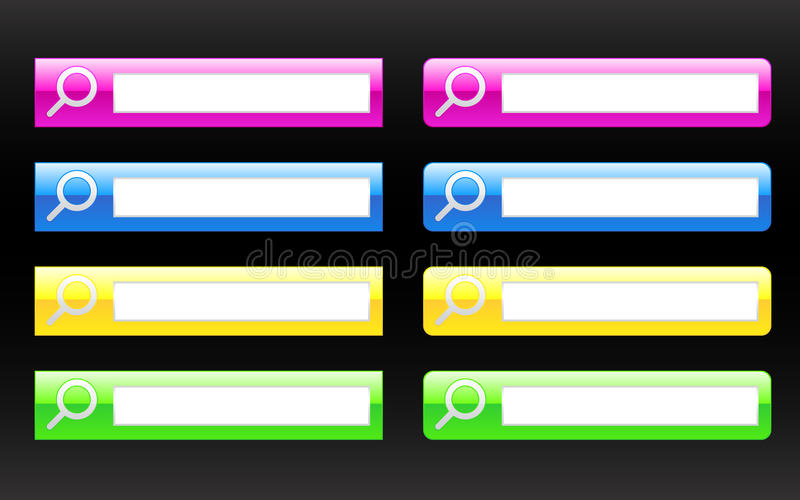 Search Bars / EPS Stock Image