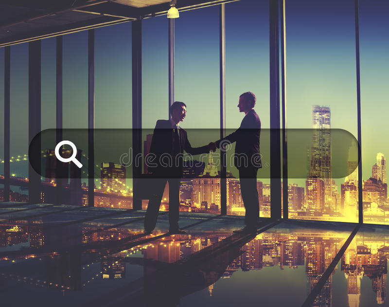 Search Box Web Online Technology Internet Website Concept stock photo