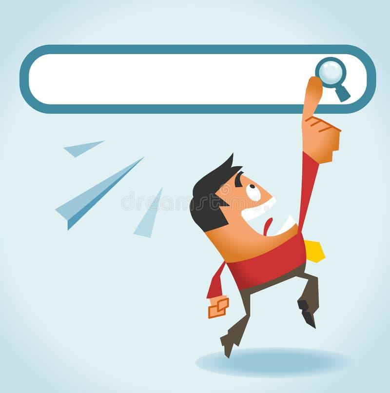Search Engine ist alle, die wir benötigen vektor abbildung