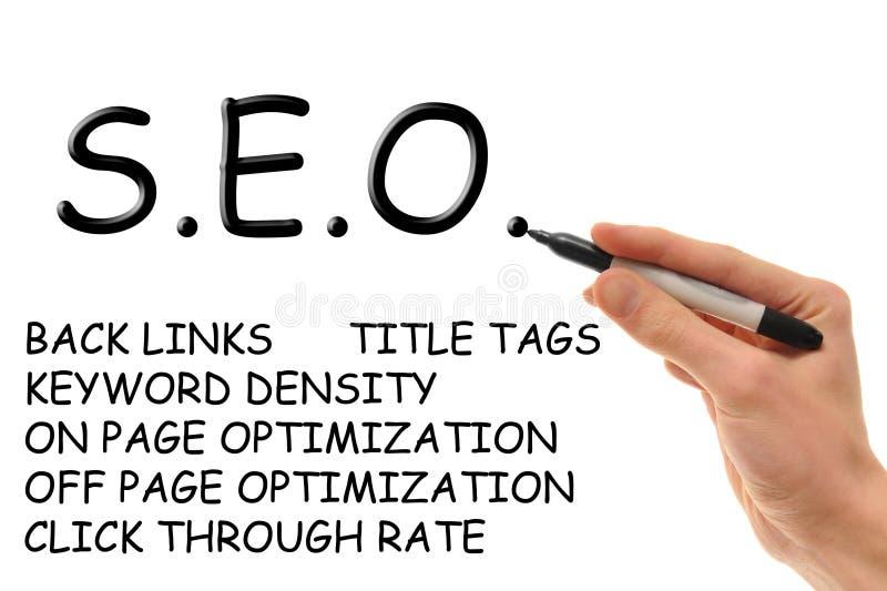 Search Engine Optimization vector illustration