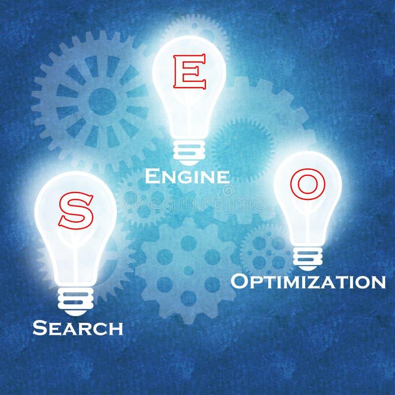 Search Engine Optimization & business success stock image