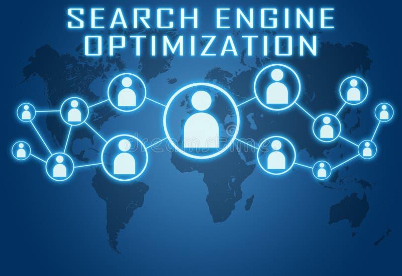 Search Engine Optimization royalty free illustration