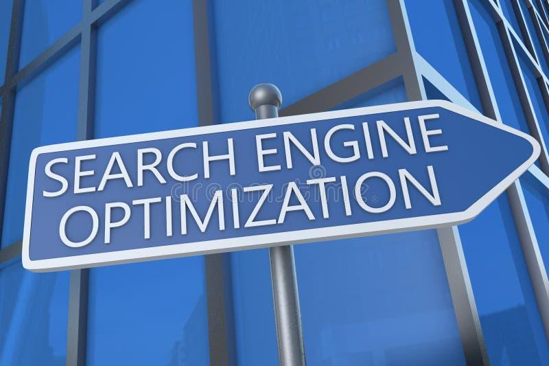 Search Engine Optimization stock illustration