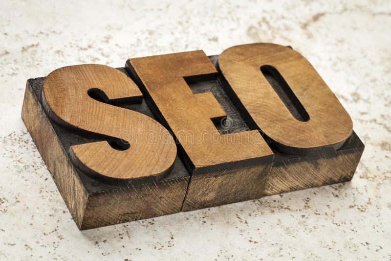 Search Engine Optimization - SEO Stock Photo