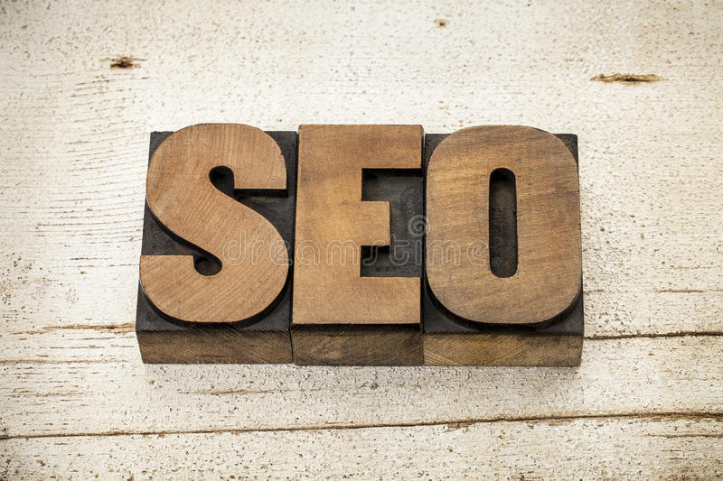 Search Engine Optimization - SEO Royalty Free Stock Photography