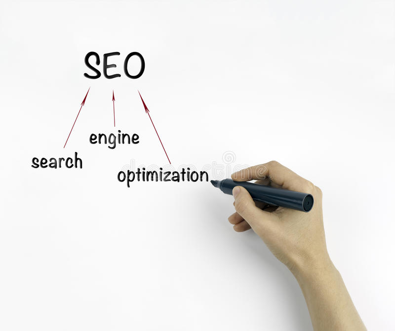 Search engine optimization ( SEO ) concept.  stock photos