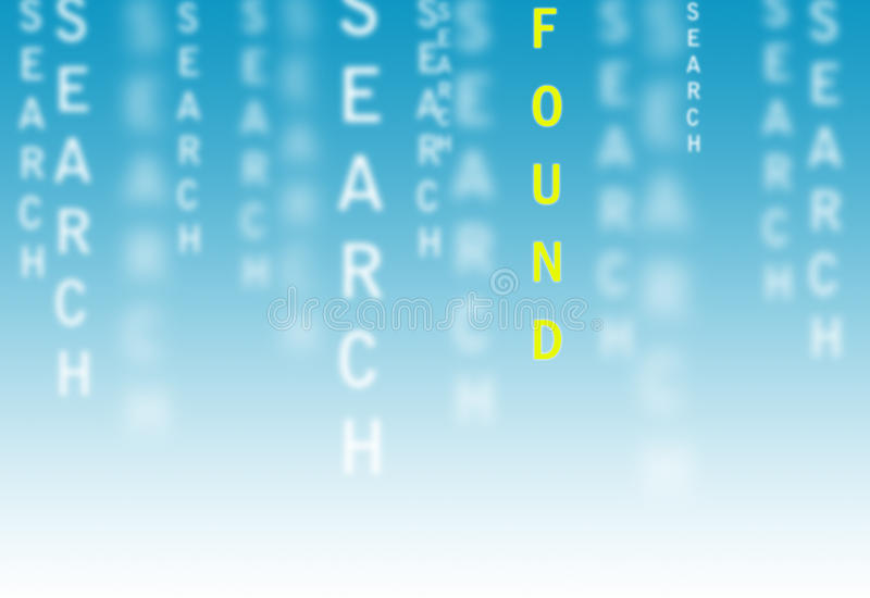 Download Search and found stock illustration. Illustration of found - 30442290