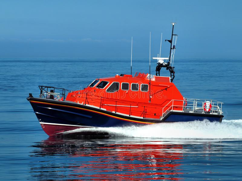 Search and Rescue Craft at Speed. stock photography