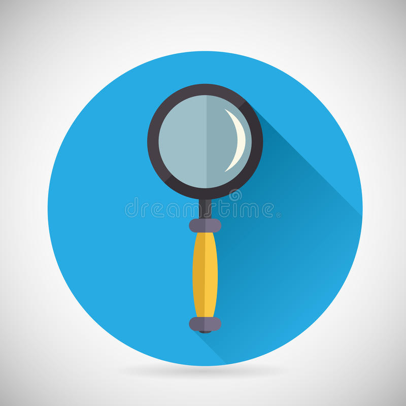 Search Symbol Magnifying Glass Loupe Icon with vector illustration