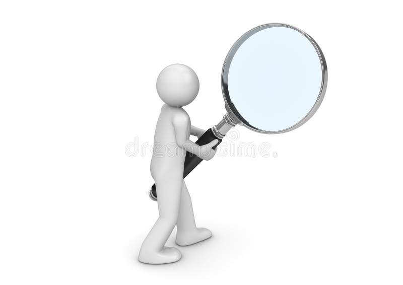 searcher stock illustrationer