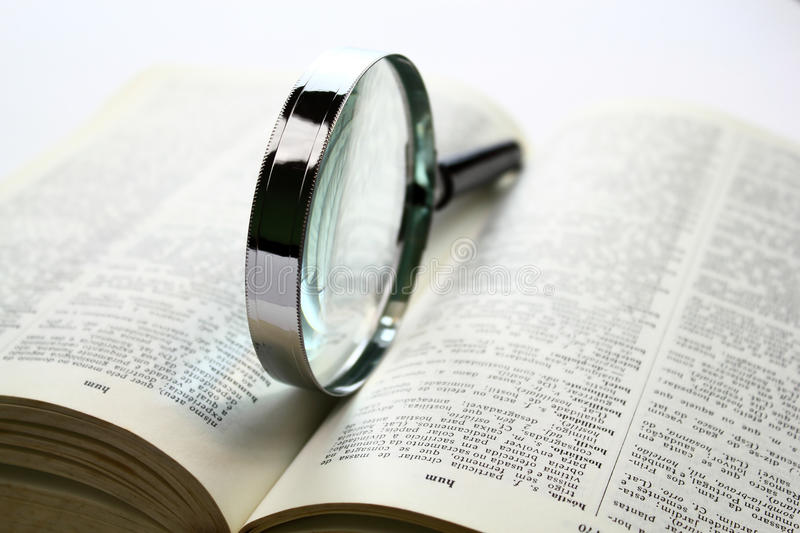 Download Searching for knowledge stock photo. Image of glass, education - 23043532