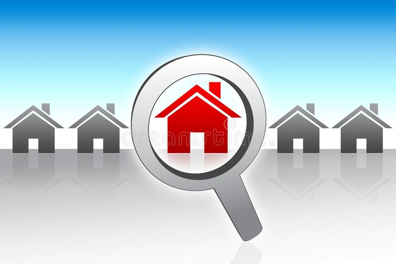 Download Searching For A New Home Concept Stock Images - Image: 18922464
