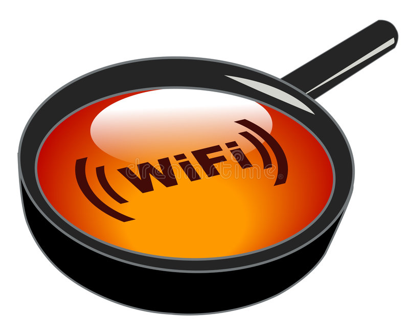 Download Searching for wifi stock vector. Illustration of network - 6422565