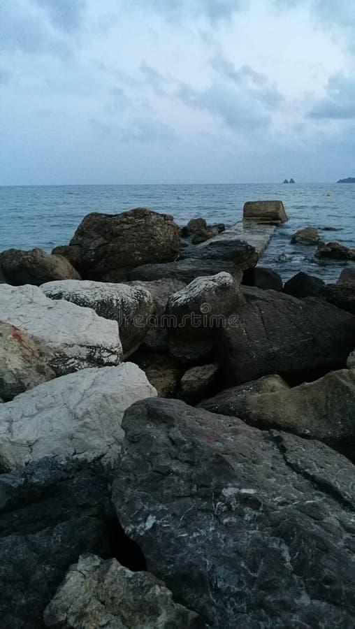 Searocks royalty-vrije stock foto