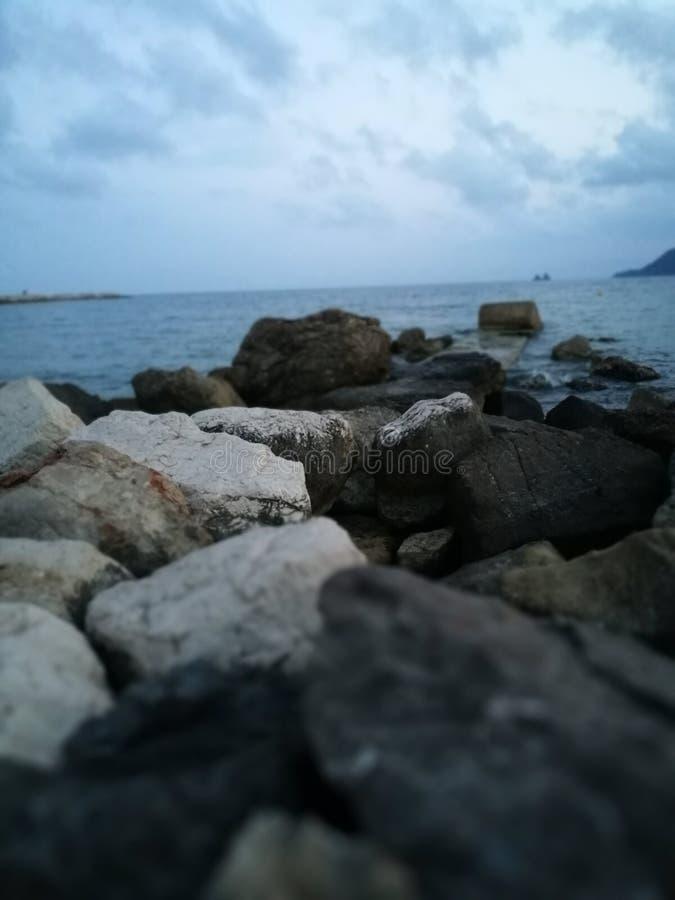Searocks stock afbeelding