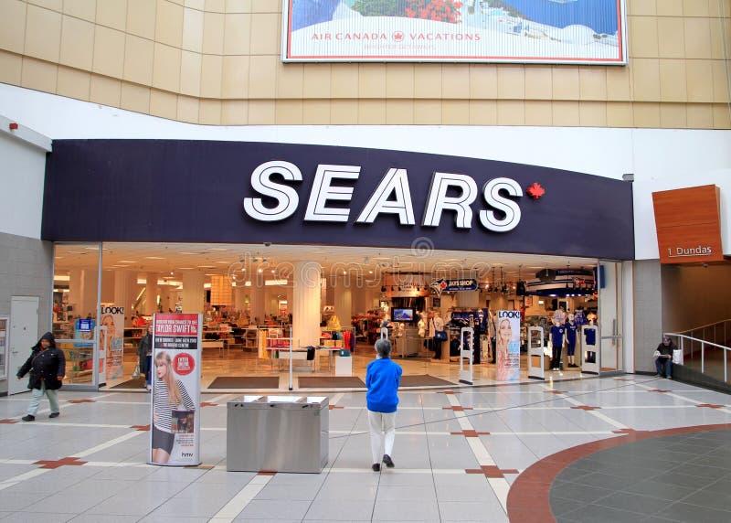 Download Sears-Speicher redaktionelles stockfotografie. Bild von eaton - 34062197