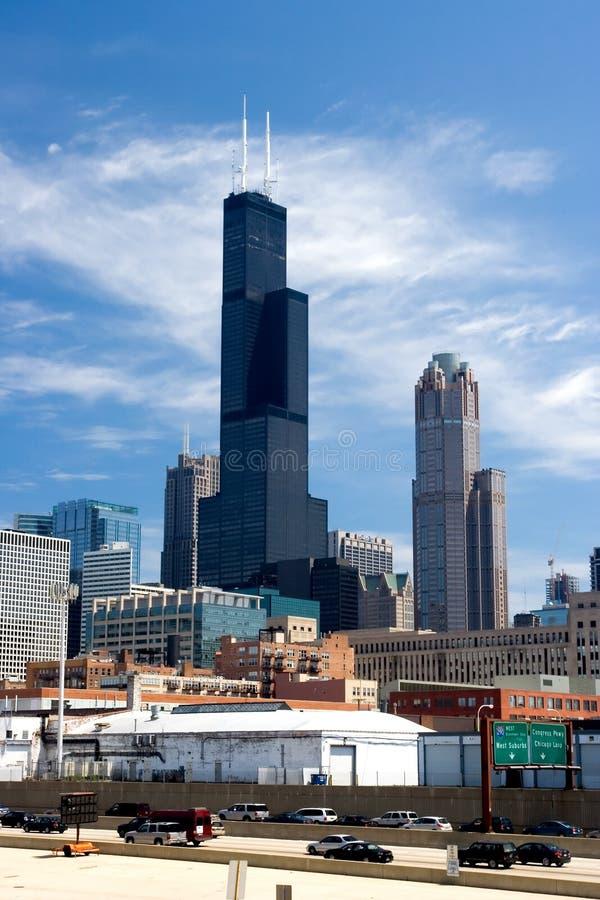 Sears/torre de Willis imagen de archivo libre de regalías