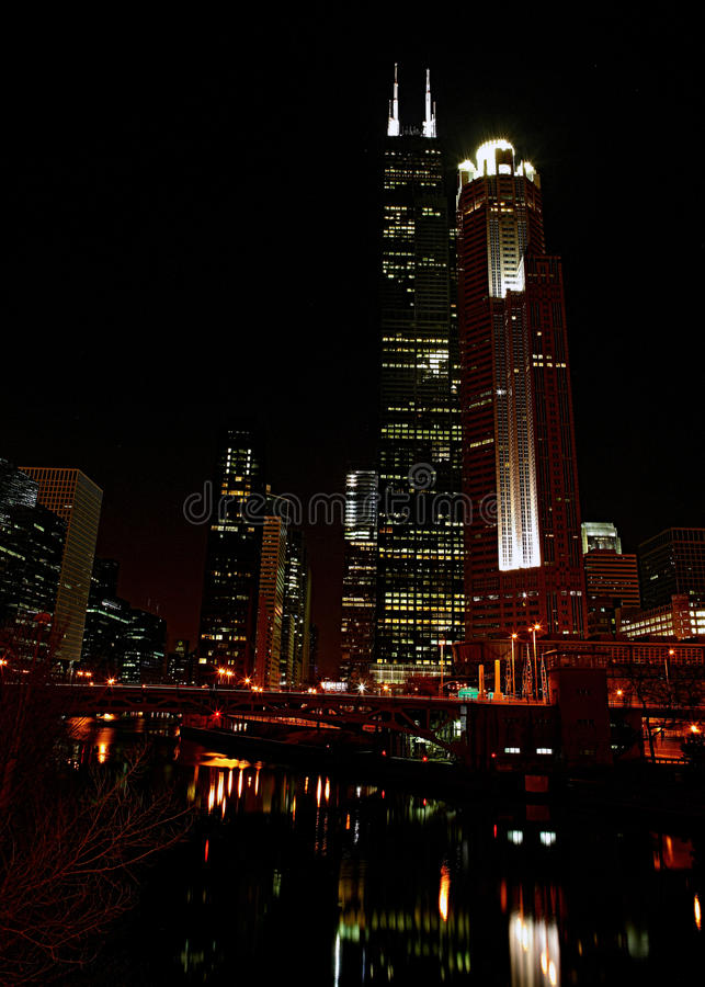 Sears Tower fotografia stock