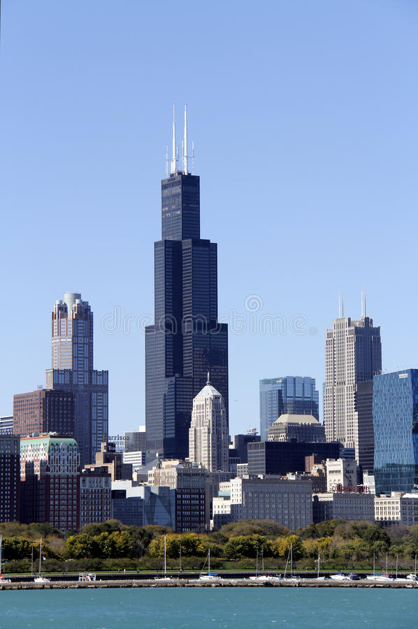 Sears Tower imagens de stock royalty free