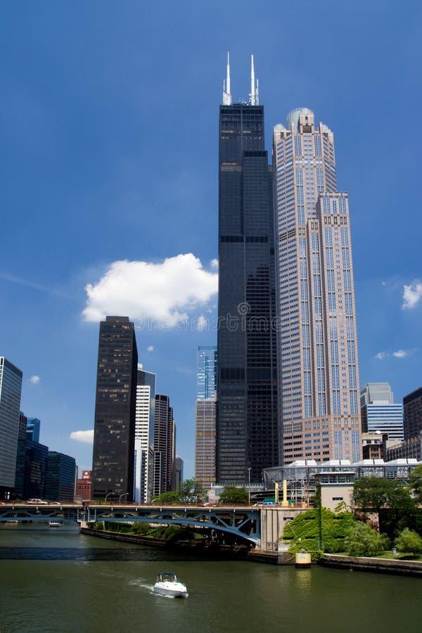 Sears Tower 免版税图库摄影