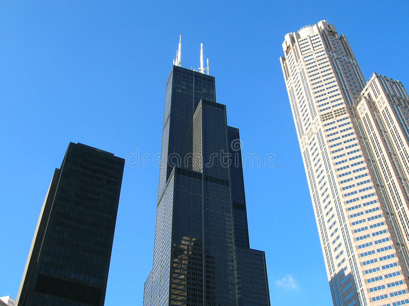 sears tower fotografia royalty free
