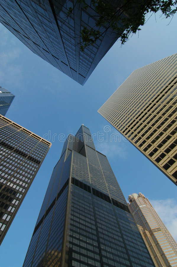 Free Sears Tower Royalty Free Stock Image - 5445826