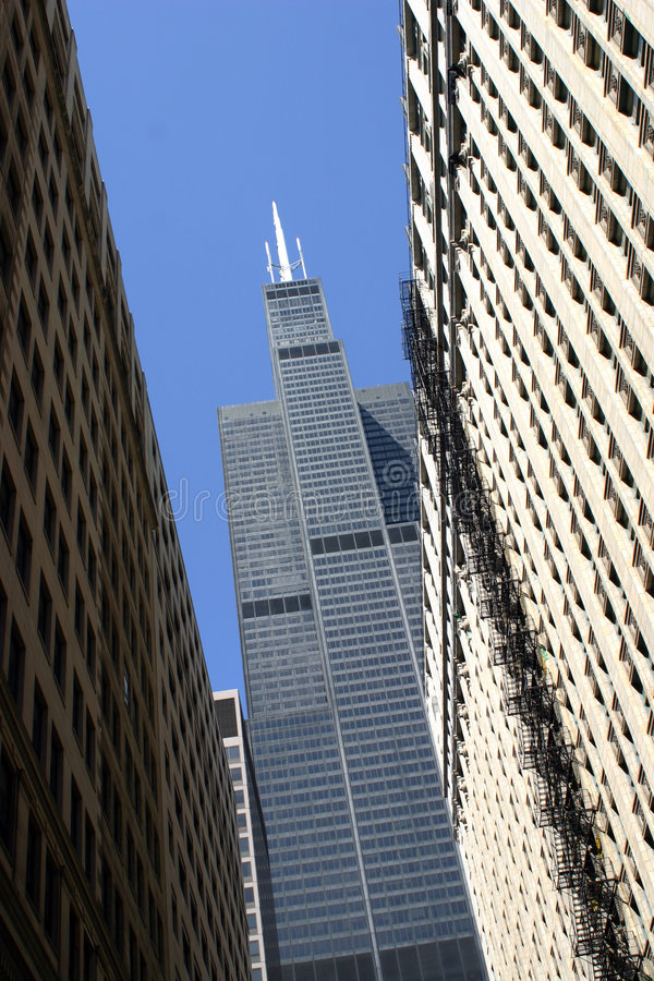 Sears Tower royalty free stock photography