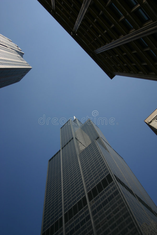 Sears Tower arkivfoton