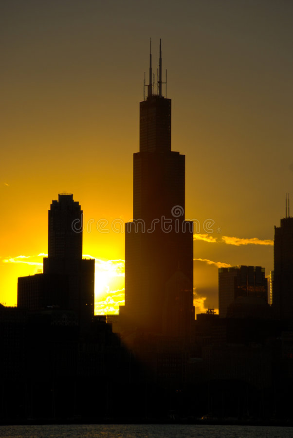 Sears Tower, Chicago stock photo