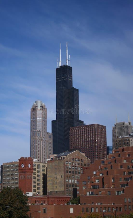 sears tower w chicago zdjęcia royalty free