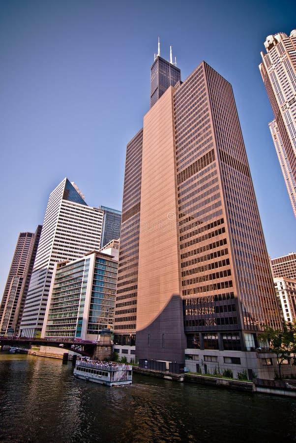 sears tower w chicago fotografia stock