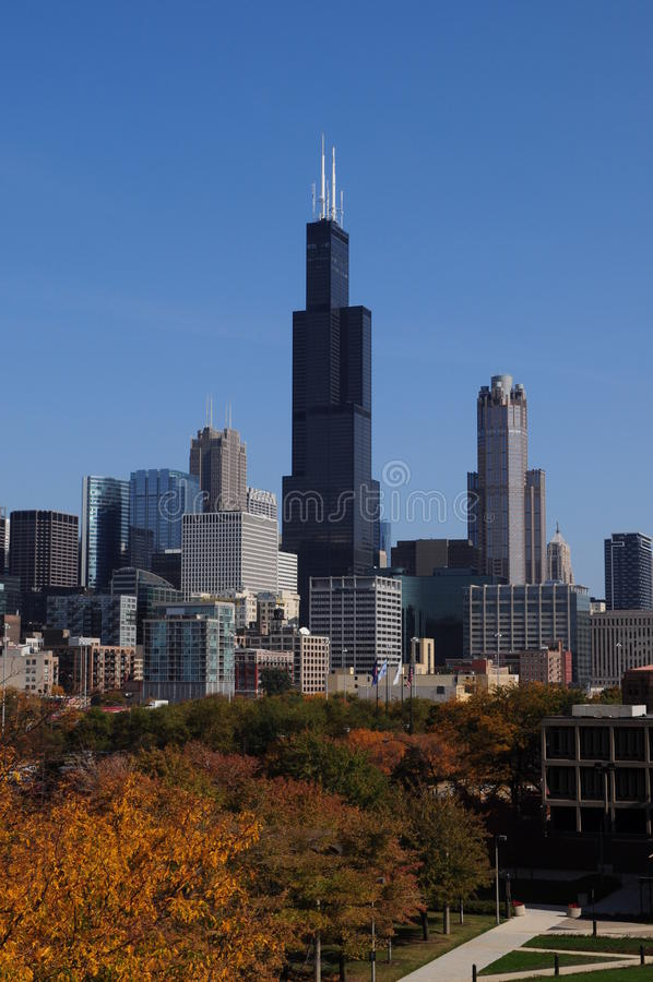 Sears Tower willis arkivbilder