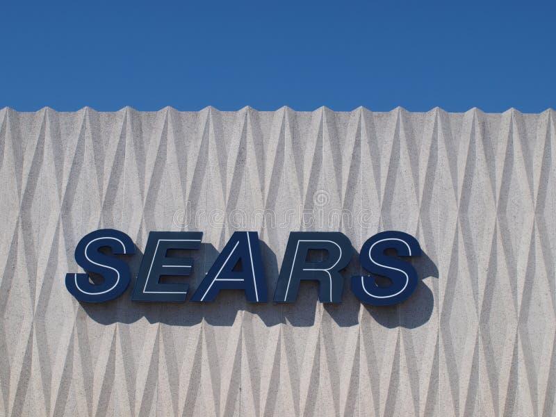 Sears und Kmart, die mehr Speicher schließen stockfotografie