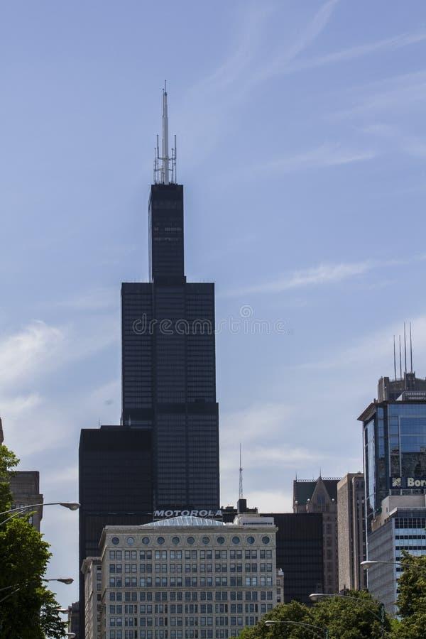 Sears Willis Tower Chicago stockfoto