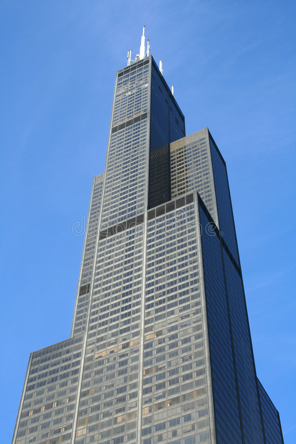 Sears Willis Tower in Chicago royalty free stock photo