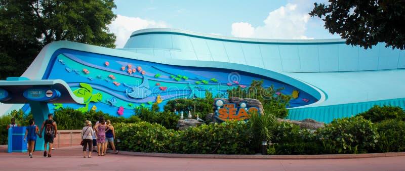 The Seas at Epcot, Orlando, Florida. The Seas at Epcot in Disneyworld, Orlando, Florida royalty free stock photos